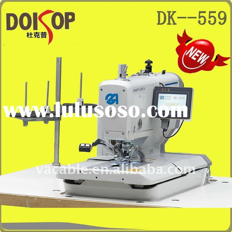 Electronic Eyelet Buttonholer Sewing Machine