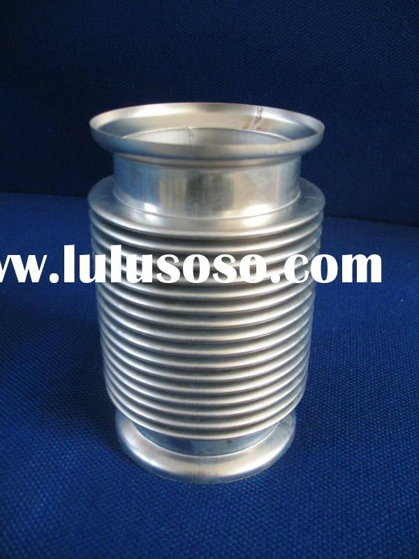 Exhaust pipe and exhaust stainless steel bellows