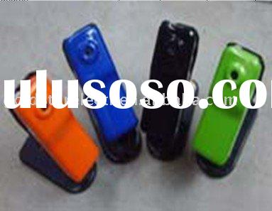 Fashionable mini video recorder with voice-activated video