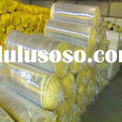 Fire resistance aluminum foil faced thermal insulation glass wool blanket