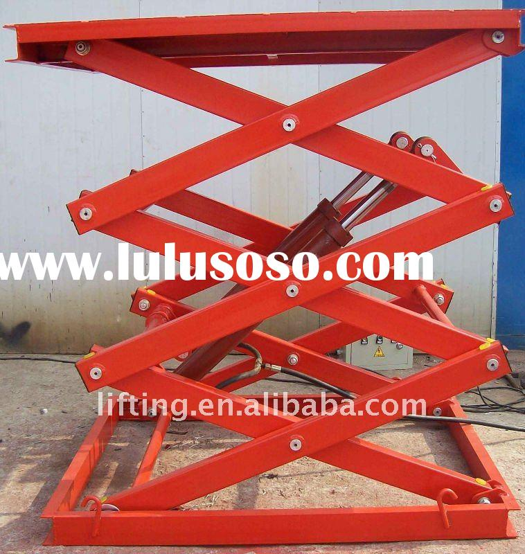 Fixed electric hydraulic scissor lift