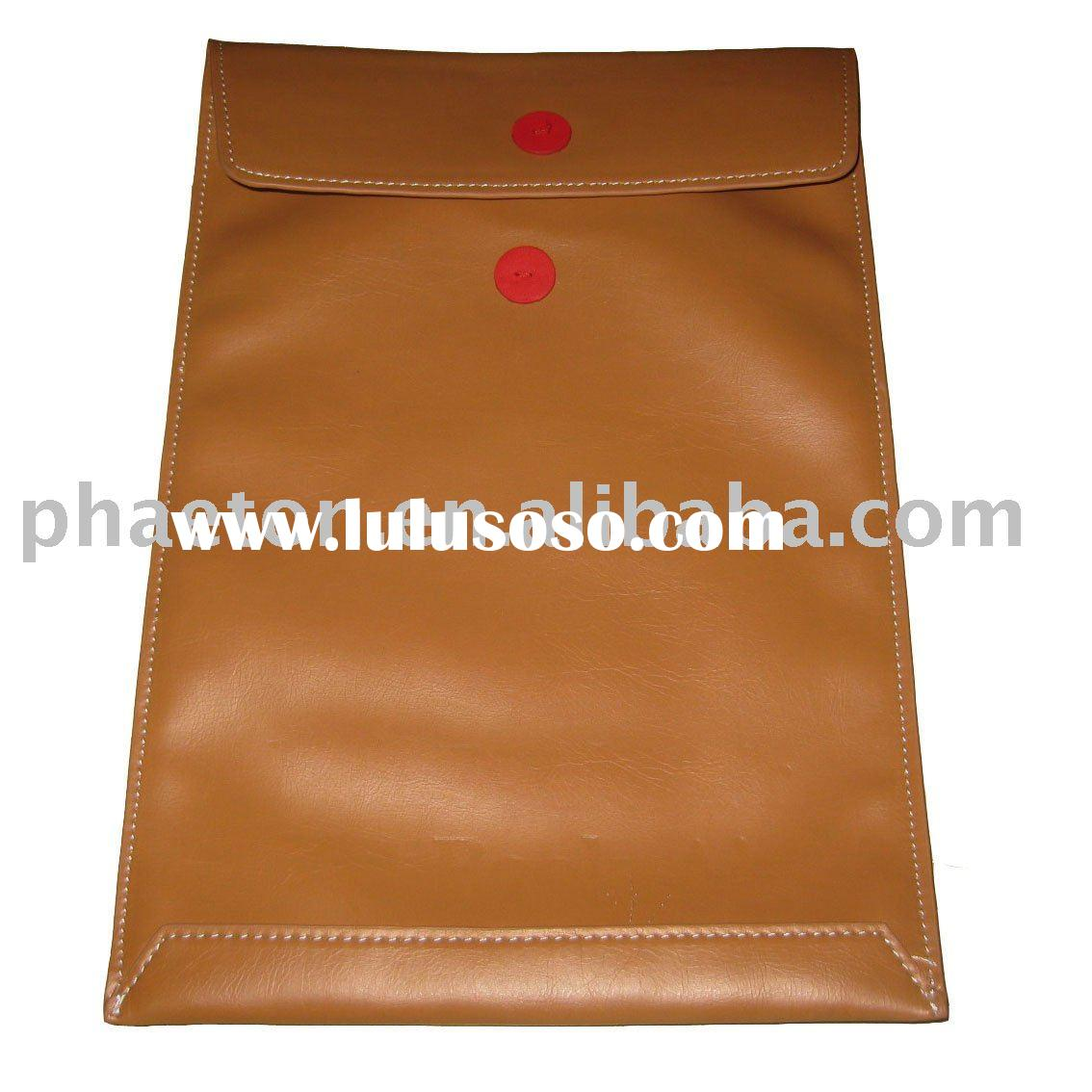 """Folder Sleeve Leather Case For MacBook Air 13"""""""