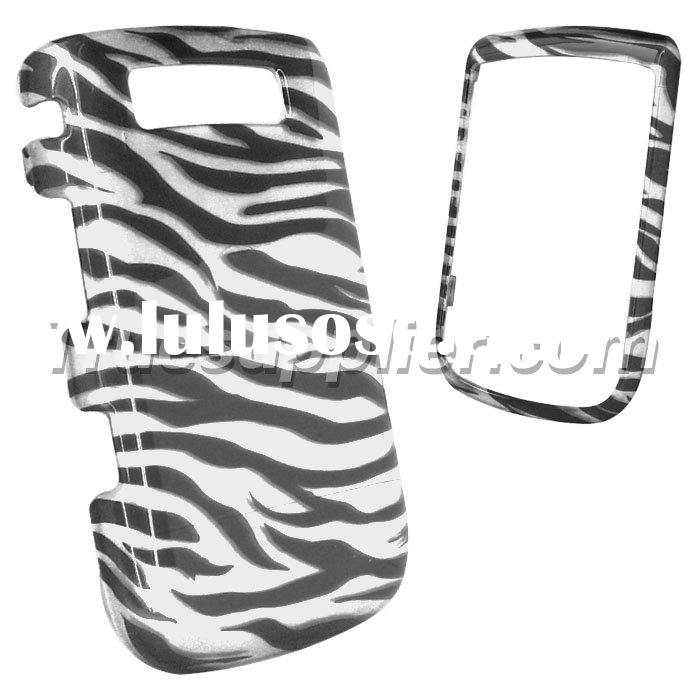 For Blackberry Torch 9800 Hard Protective Cases Cover Zebra Style Black