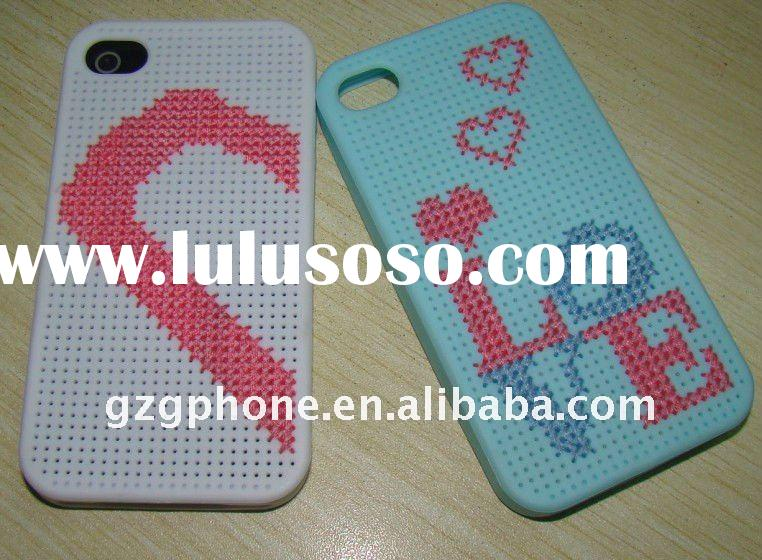 For iPhone case mobile case DIY protective tpu case
