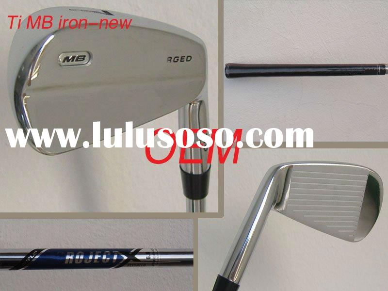Forged golf iron set 2011 new hot sale design
