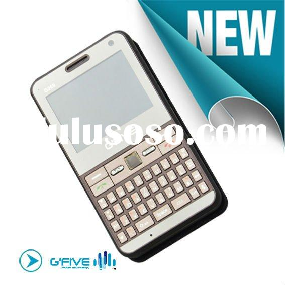 GFIVE G269 QWERTY mobile phone with email, Wireless LAN, Trackpad, dual camera
