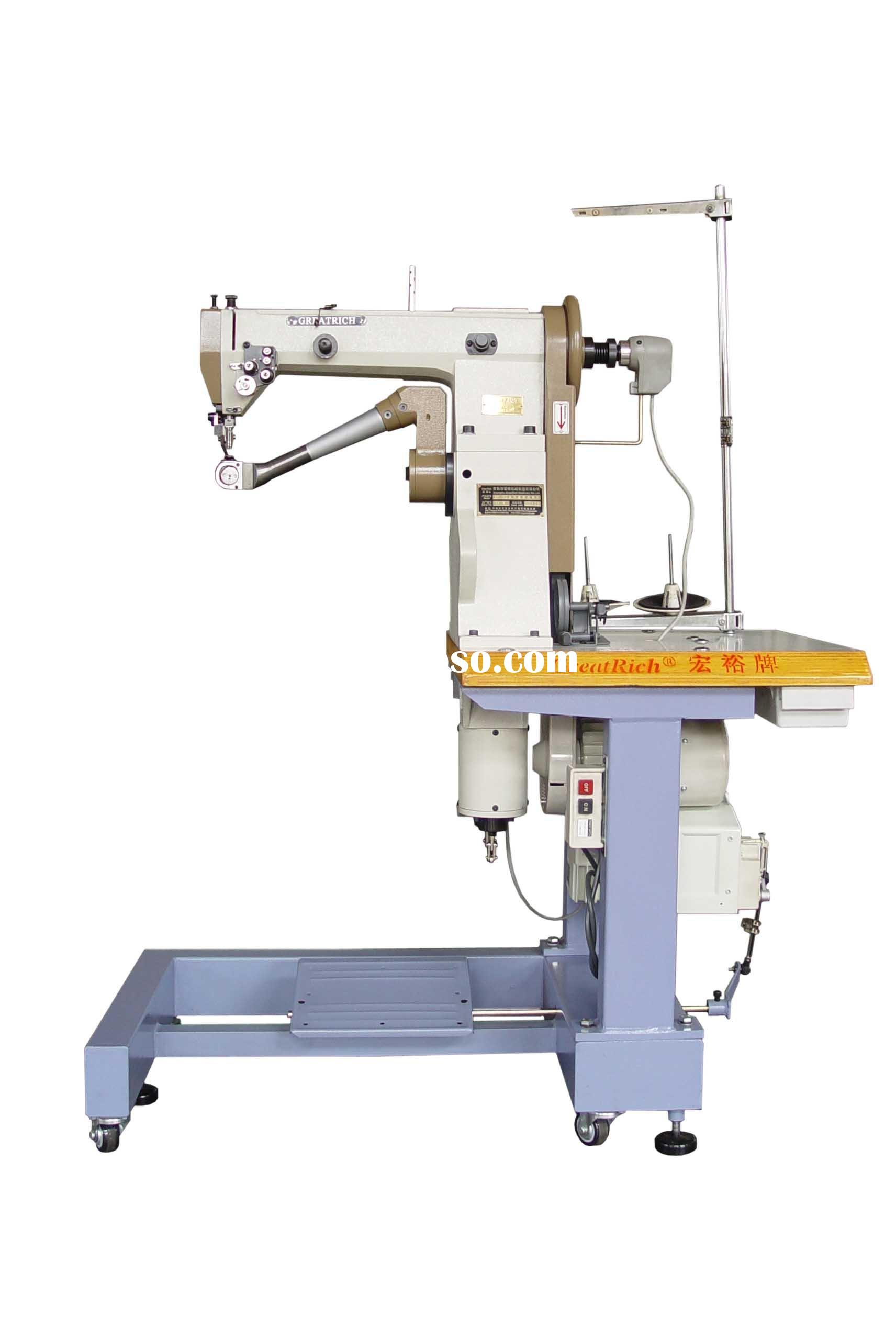 GR-182 double needle seated type inseam sewing machine