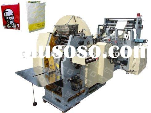 GY400 Automatic Food Paper Bag Making Machine