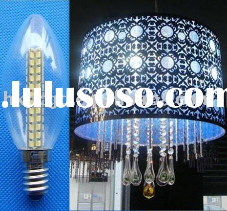 Glass housing, smd3020, led crystal lamp, use for rechargeable led table lamp