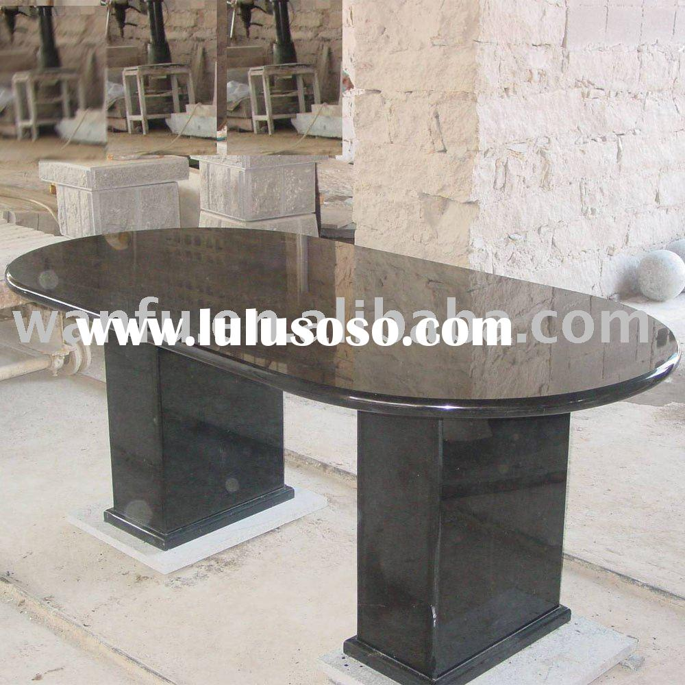 Granite Dinner Table With Base