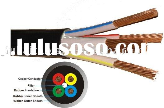 H07RN-F Cable / Rubber Cable / Submersible Pump cable 4 Core