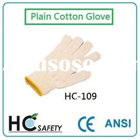HC-109 Cotton Glove, working gloves, safety gloves, protective gloves, hand protection, PPE