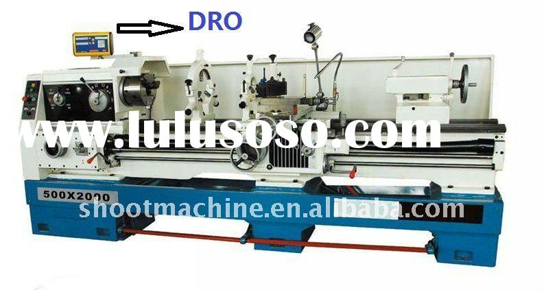 HORIZONTAL LATHE Machine CA6166B(1500mm) with Max. Swing over bed 660mm and Max. length of work piec