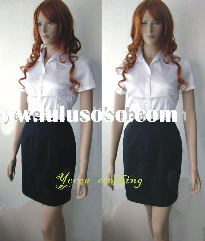 HOT sell ladies staff/office uniform