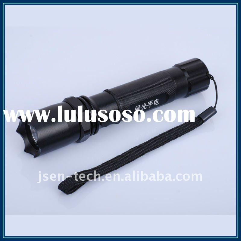 HP Cree Q3 led aluminum rechargeable police torch