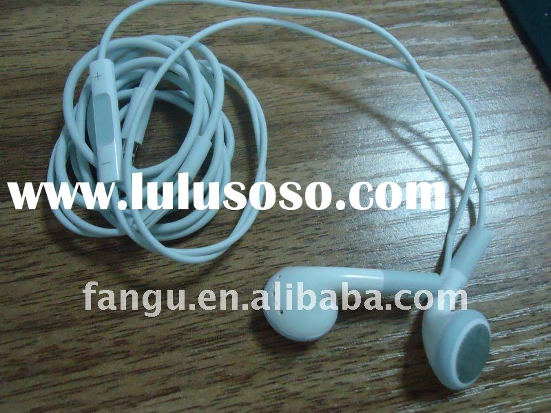 Headset with remote and mic for apple iphone/ipod/ipad