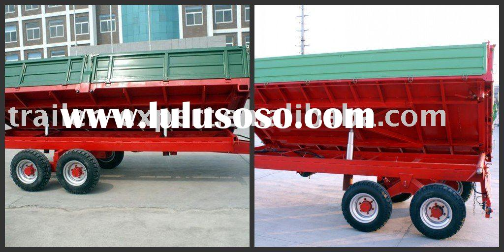 Heavy-duty tandem-axle truck trailer/agricultural machinery