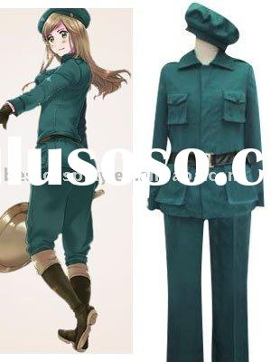 Hetalia: Axis Powers Hungary Cosplay Costume