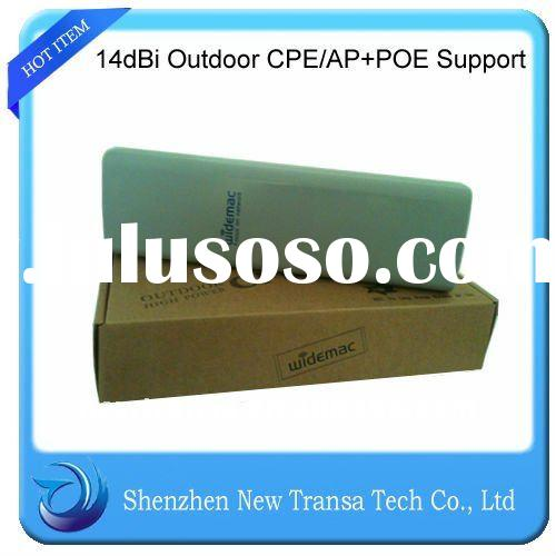 High Power Wireless Outdoor CPE/POE Support