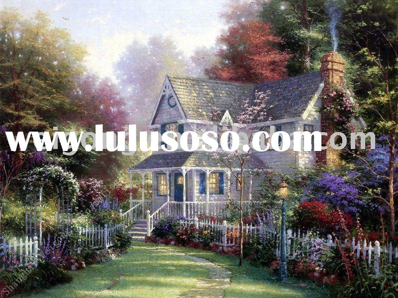 High-end landscape oil paintings at competitive prices