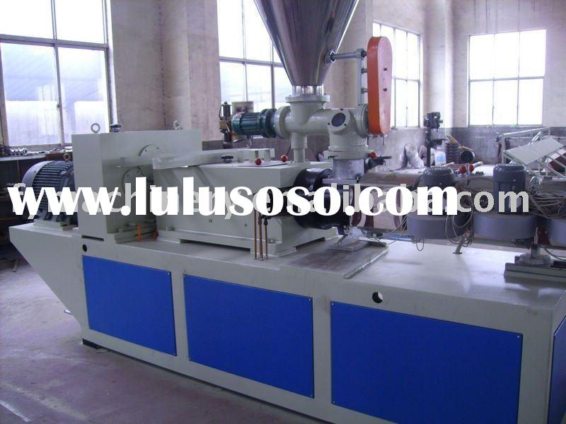 High quality electrical cable pipe making machine