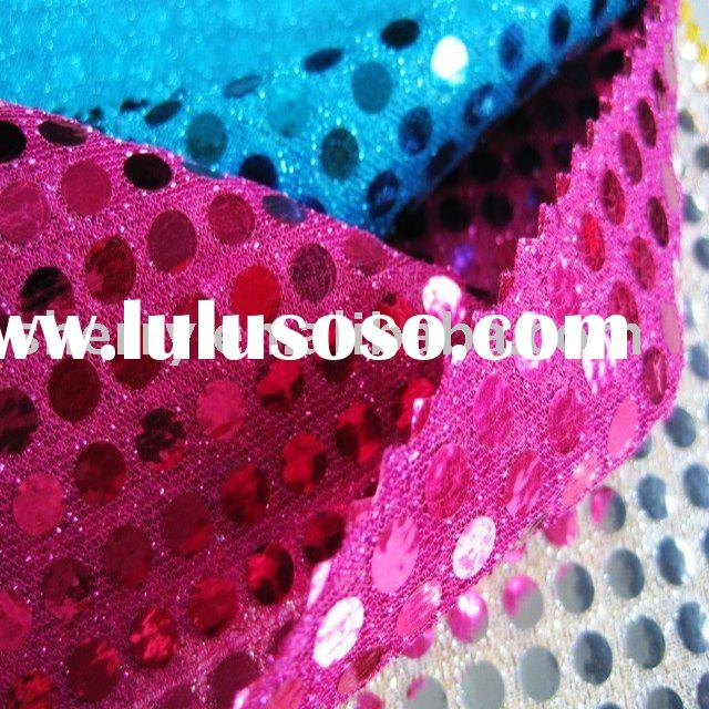 Hologram sequins fabric
