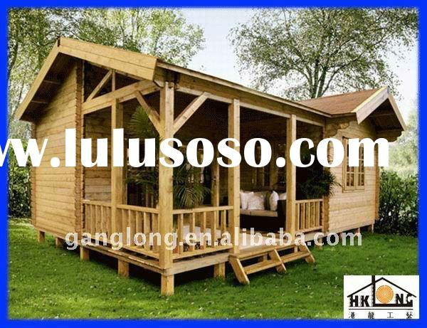 Hot~ Easy assembled & eco-friendly wood house/ prefabricated building/ prefab house