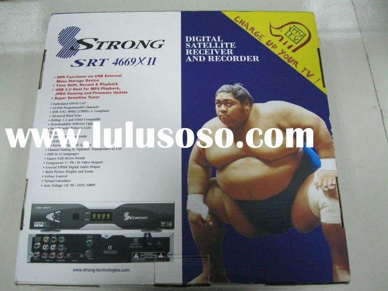 Hot and In Stock DVB-S Strong 4669X digital satellite receiver