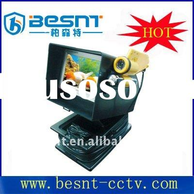 Hot sale 7'' monitor Underwater CCD camera for detecting benthic world