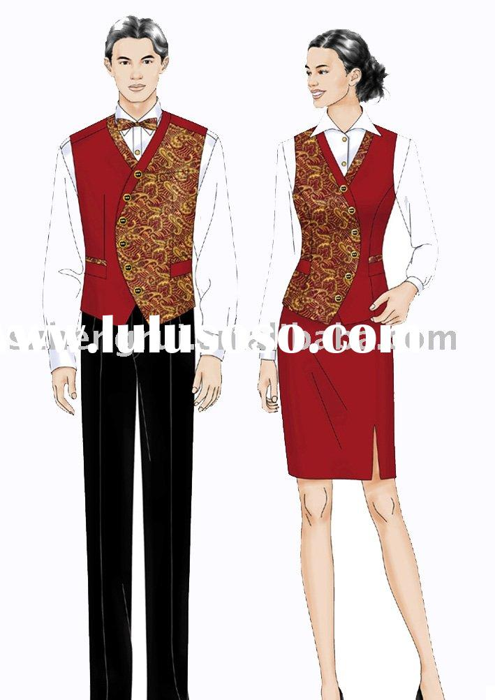 Hotel uniform style for Hotel design jersey