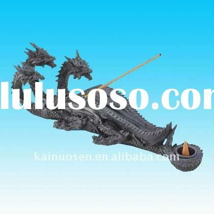 Hotsale resin dragon incense holder