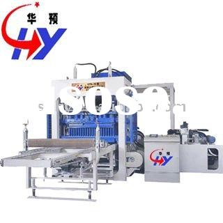 Hydraulic adobe block making machine