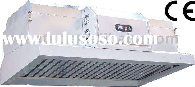 Kitchen Chimney Hood with Electrostatic Exhaust Purifier