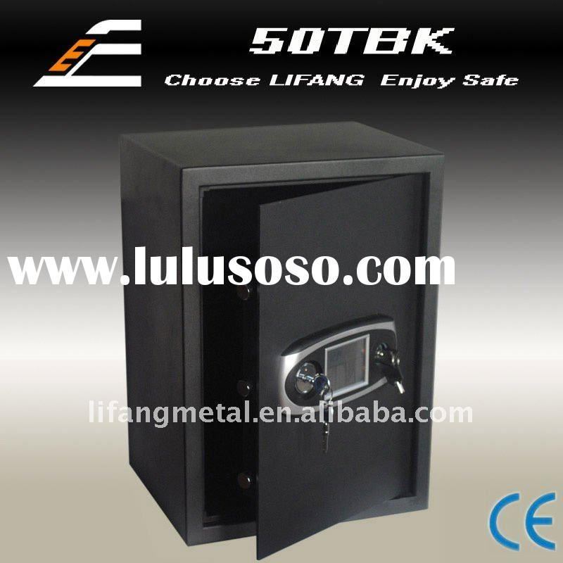 LCD touched screen,more cylinder for security,big electronic safe for office use,deposit safe box,de