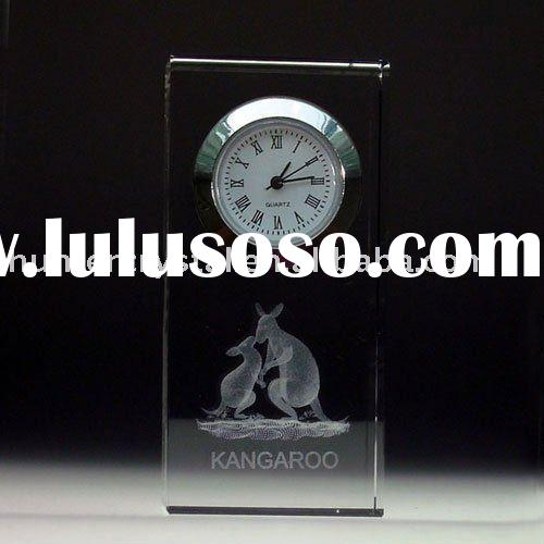 Lead Crystal Clocks ,Crystal Desk Clock ,Nice Table Clock