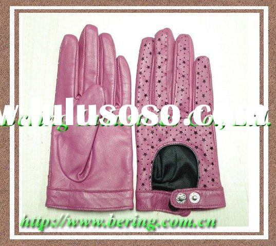 Leather Driving Gloves, Kids Leather Gloves.