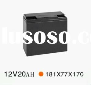 LiFePO4 Battery with 12V Voltage and 20Ah Nominal Capacity used for electric golf trolley