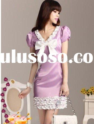 Light Purple Graceful Lady Dress