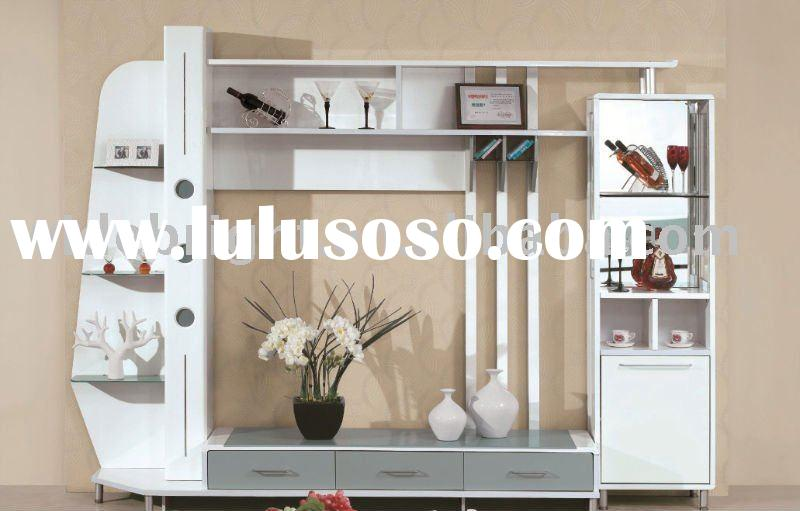 Living room furniture wall unit tv stand