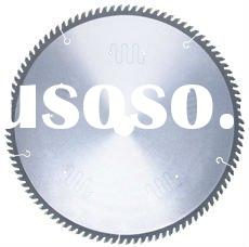 Low noise T.C.T. circular saw blade for cutting non-ferrous metal