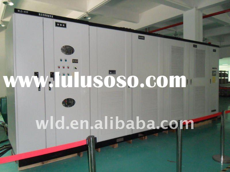 Medium voltage variable voltage variable frequency motor drive