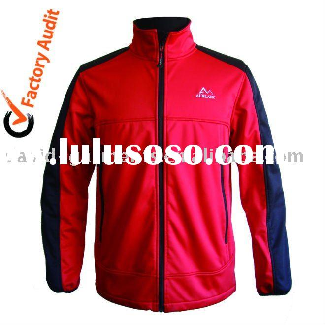 Men's casual softshell clothes