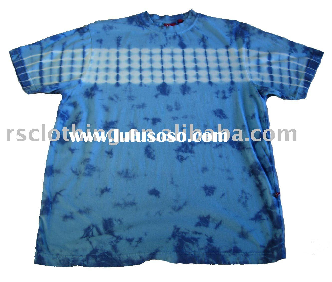 Men's cotton tie dye t-shirt