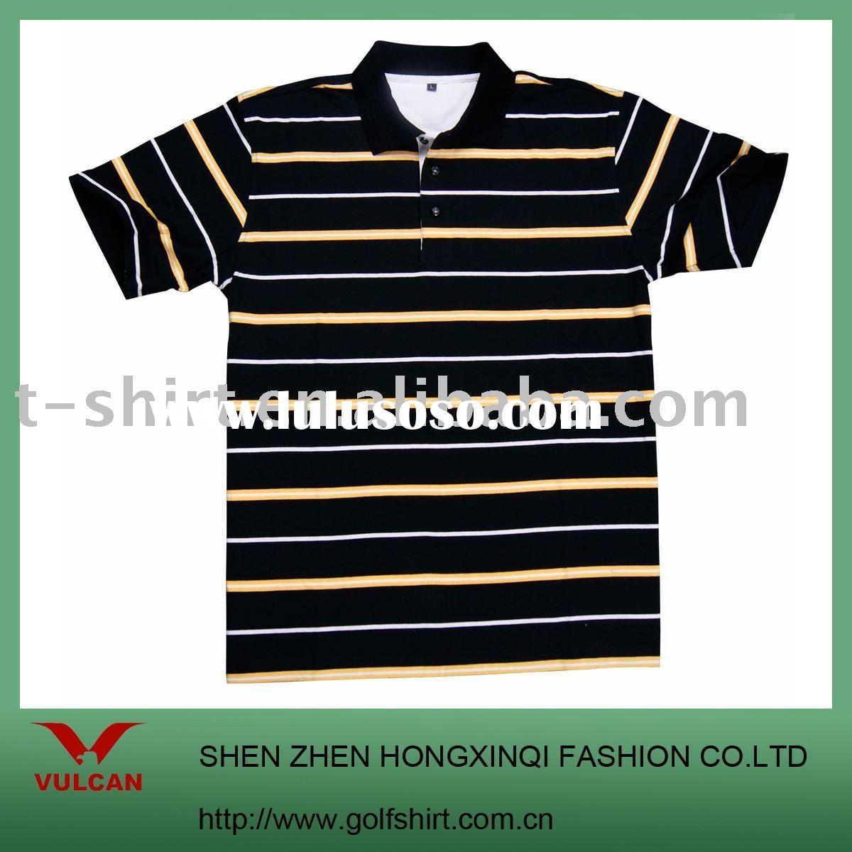 Men ` t-shirt /polo shirt / cotton stripe tshirt /yarn dyed tshirt /plain t-shirt