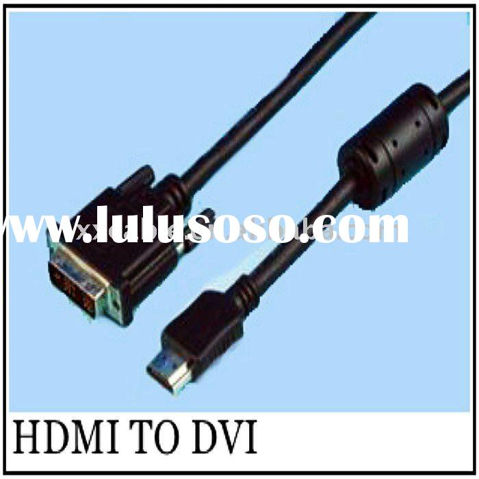 Micro HDMI To DVI Cable 1.4 M/M 5FT