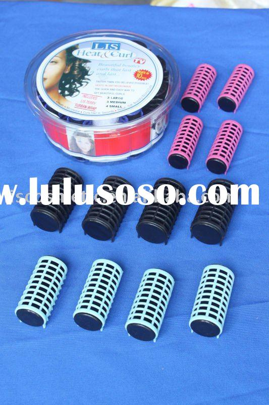 Micro wave oven hot hair roller