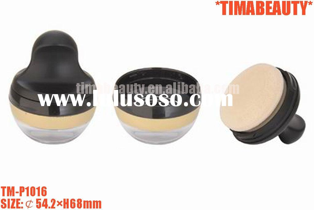 Mineral powder case, loose powder container, loose powder package