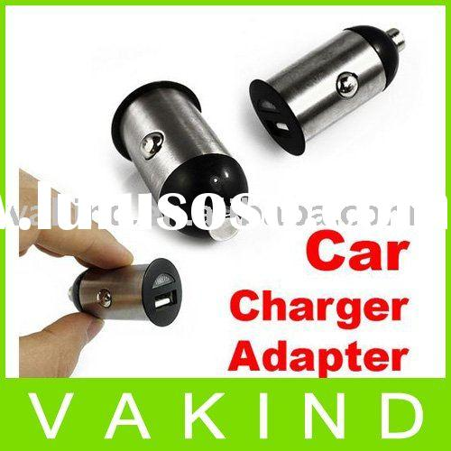 Mini Universal USB DC Power Car Charger Adapter Sil