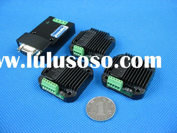Miniature size stepper motor control and drive
