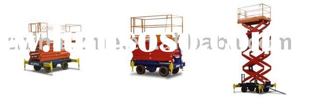 Mobile Scissor Lift Aerial Work Platform